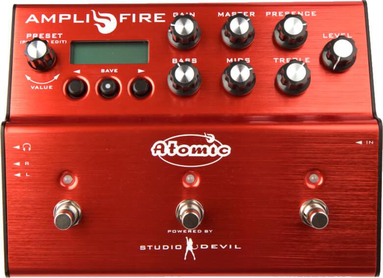Atomic Amplifire:フロントパネル