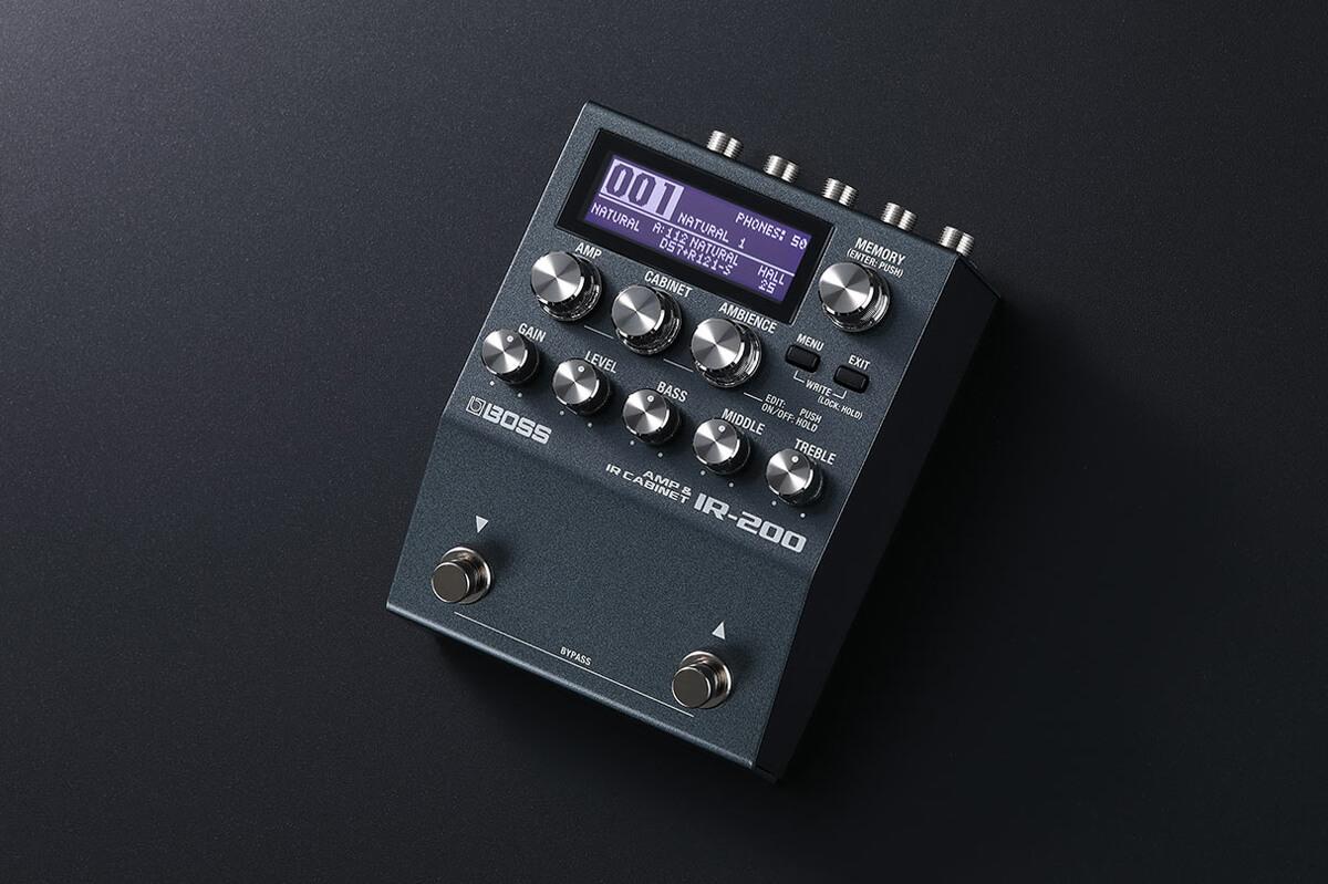 BOSS IR-200 AMP&CABINET PROCESSOR