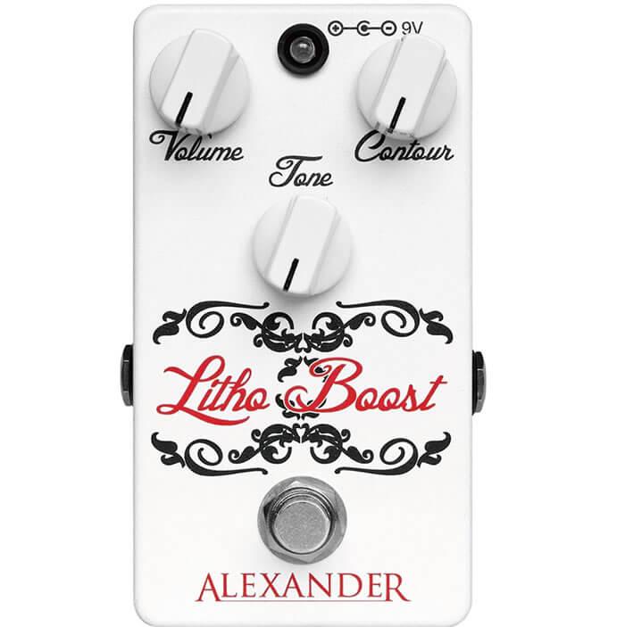 Alexander Pedals Litho Boost